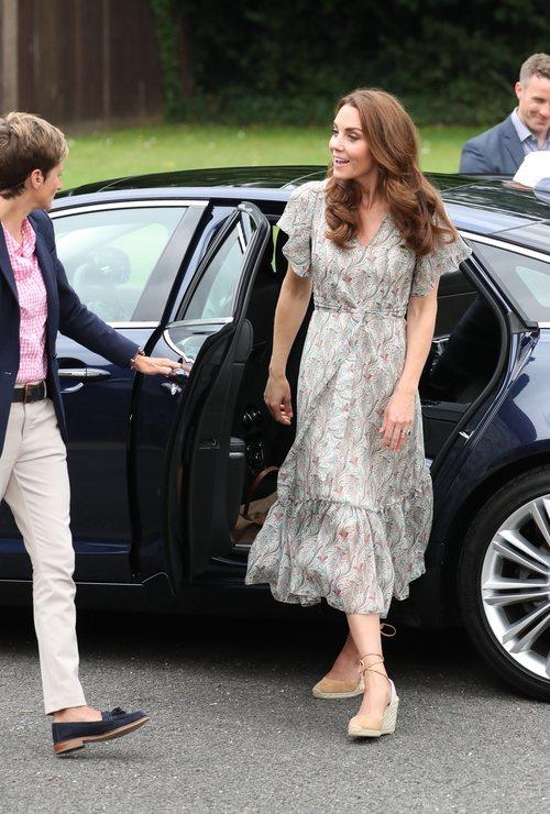 La Duquesa de Cambrige en la Royal Photographic Society