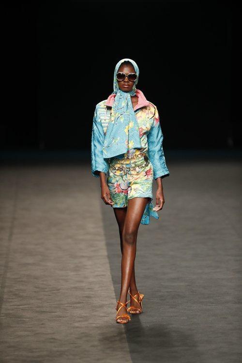 Estética años cincuenta y colores llamativos en la colección primavera/verano 2020 de WallapopxMaríaEscoté
