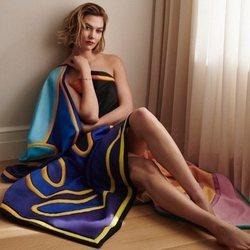 Pañuelo multicolor de la colección verano 2019 de Louis Vuitton