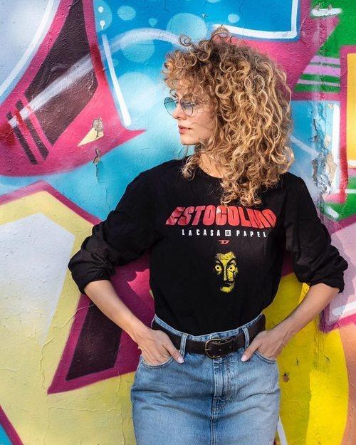 Camiseta Estocolmo de Diesel x 'La casa de papel'