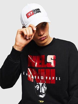 Gorra y camiseta de Diesel x 'La casa de papel'