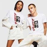 Camiseta blanca de Diesel x 'La casa de papel'