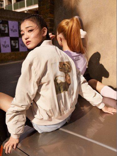 Cazadora bomber de la colección otoño 2019 de H&M