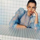 Blusa con transparencias de la colección 'Pretty Bold' de Zara TRF