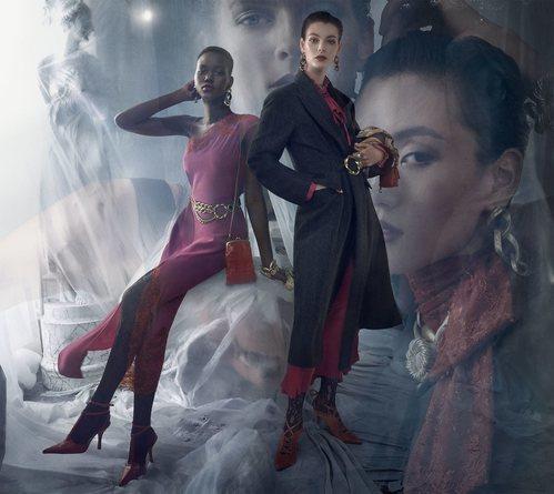 Vestido asimétrico de la colección otoño 2019 de Zara