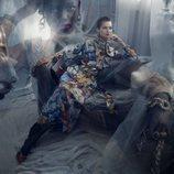 Vestido estampado de la colección otoño 2019 de Zara