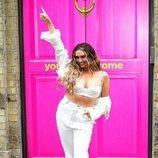 Charlotte Dawson en la presentación de MTV Cribs con un look cargado de excesos