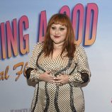 Beth Ditto con un vestido recargado e imposible en la presentación de 'On Becoming a God in Central Florida'