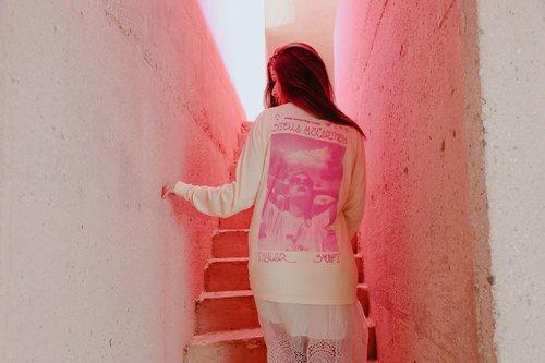 Sudadera de algodón Stella McCartney x Taylor Swift