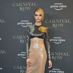 Cara Delevingne vestida de David Koma en Berlín
