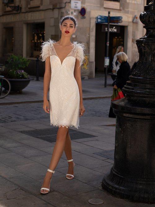 Vestido 'LWD 05' de la colección 2020 de Pronovias