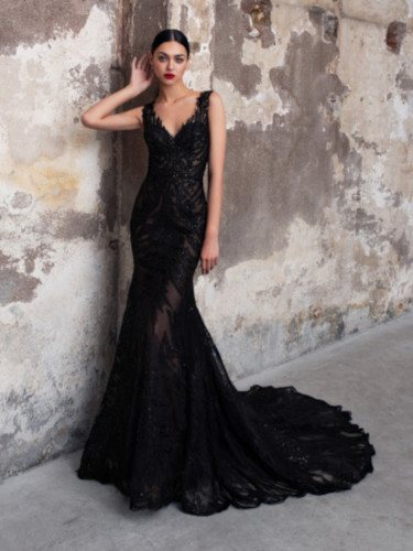 Vestido 'Onyx' de la colección 2020 de Pronovias