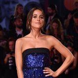 Macarena García  vestida de Armani en la premiere de 'Serberg' en el Festival de Venecia 2019