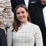 Ingrid Alexandra de Noruega con un vestido de Self Portait en día de su Confirmación