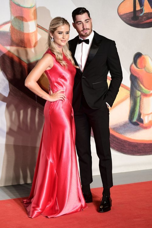 Valentina Ferragni y Luca Vezil en la premiere de 'Chiara Ferragni Unposted' en el Festival de Venecia 2019