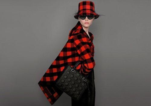 Jersey de cuadros de la colección prêt-à-porter otoño/invierno 2019 de Dior