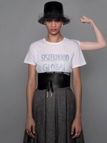 Camiseta estampada de la colección prêt-à-porter otoño/invierno 2019 de Dior