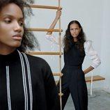 Jersey combinado de la colección 'The Minimal Knitwear' de Zara