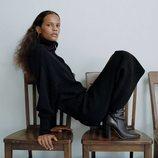 Falda de la colección 'The Minimal Knitwear' de Zara