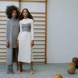 Falda midi de la colección 'The Minimal Knitwear' de Zara