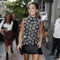 Paula Echevarría viste de Isabel Sanchís para el último evento de Samsung