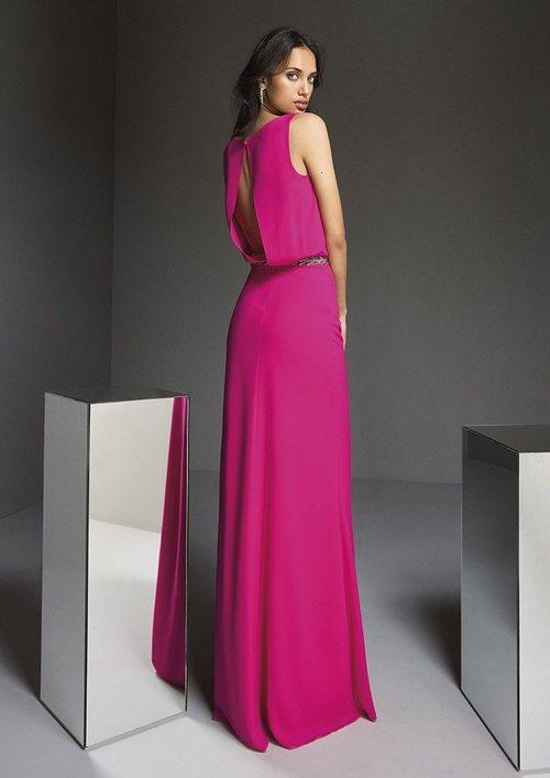 Espalda del vestido 'A touch of Sparkle nº51' de #PronoviasPink en colaboración con la AECC.