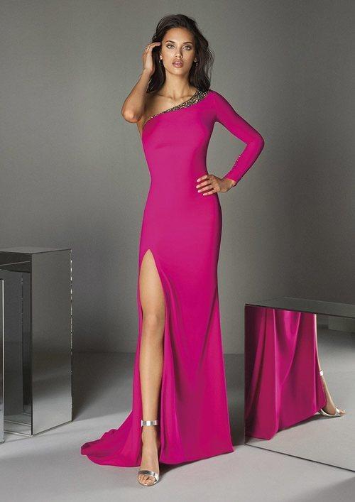 Vestido 'A Touch of Sparkle' nº 58 de la colección contra el cancer de mama de #PronoviasPink