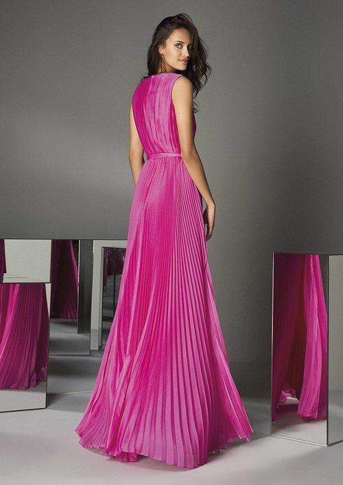 Espalda del vestido 'The Drapes' nº88  de #PronoviasPink en colaboración con la AECC