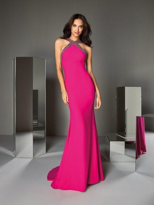 Vestido 'A touch of Sparkle' nº45 de la colección #PronoviasPink en colaboración con la AECC.