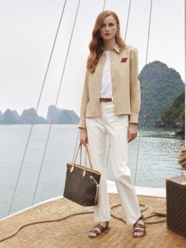 Sobrecamisa de la colección 'Spirit of Travel' de Louis Vuitton