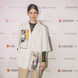 Alba Galocha en la inauguración de la pop-up store de Zalando