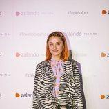 Miranda Makaroff en la inauguración de la pop-up store de Zalando