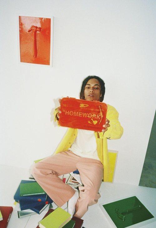 Cartera 'Homework' de la colección 'Markerad' de Ikea y Virgil Abloh