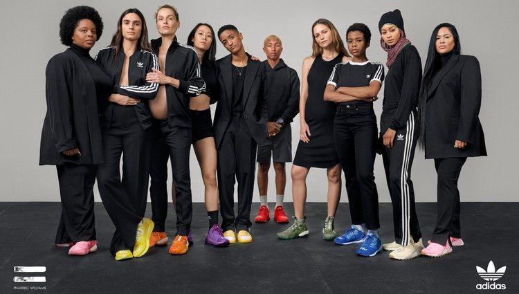 Foto promocional modelos 'Now is her time' de la colección cápsula de Adidas y Pharrel Williams