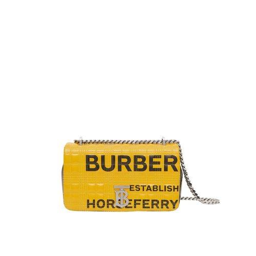 Bolso amarillo 'Lola' con logotipo TB de la nueva colección de Burberry