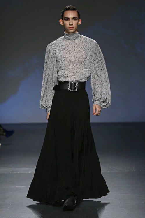 Falda y blusa de la colección '1916' de Palomo Spain
