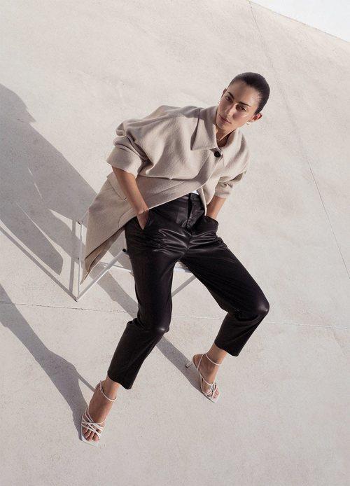 Abrigo largo de la colección otoño 2019 de Zara