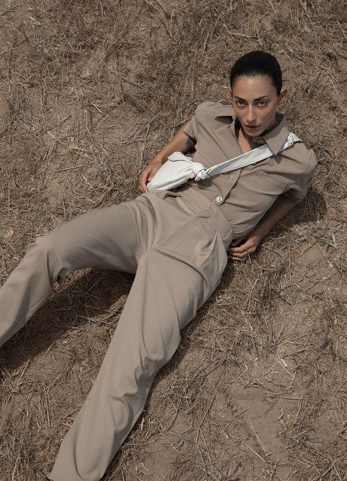 Pantalón recto de la colección otoño 2019 de Zara