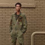 Mono militar para hombre de 'Zara SRPLS' otoño 2019
