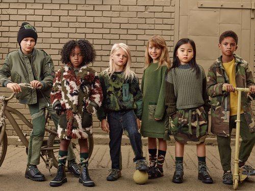Foto promocional sección infantil 'Zara SRPLS' otoño 2019
