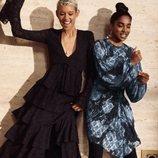 Vestido estampado de la colección 'Conscious Exclusive' de H&M