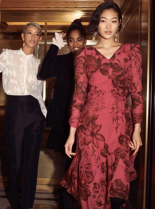 Vestido rojo de la colección 'Conscious Exclusive' de H&M