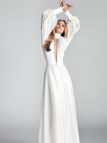 Vestido 'Támesis' de la colección Atelier Novia 2020 de Hannibal Laguna