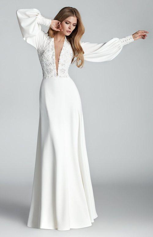 Vestido 'Turpin' de la colección Atelier Novia 2020 de Hannibal Laguna