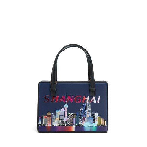 Bolso Shanghai de la colección Loewe Postal 2019