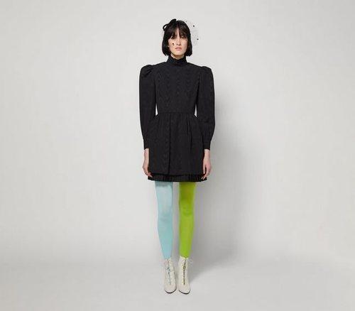 Prairie Dress negro de Marc Jacobs para la colección otoño 2019