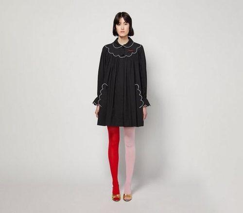 Smock Dress plisado de Marc Jacobs para la colección otoño 2019