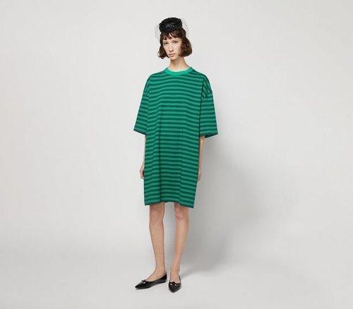 Striped T-Shirt Dress de Marc Jacobs para la colección otoño 2019