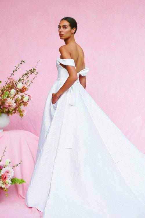 Vestido Marabelle de la colección nupcial otoño 2020 de Carolina Herrera