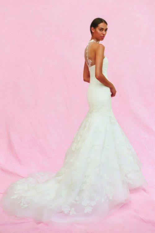 Vestido Margot de la colección nupcial otoño 2020 de Carolina Herrera